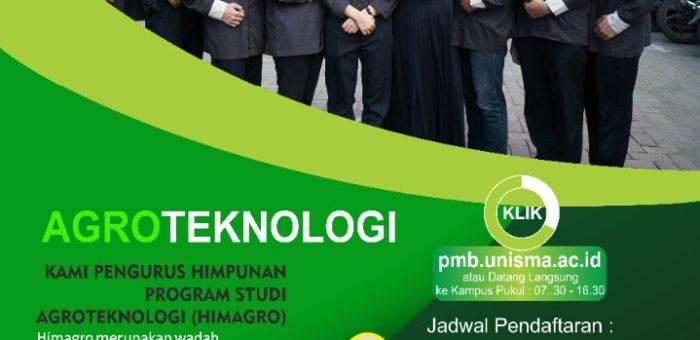 Ayo Kuliah di Prodi Agroteknologi