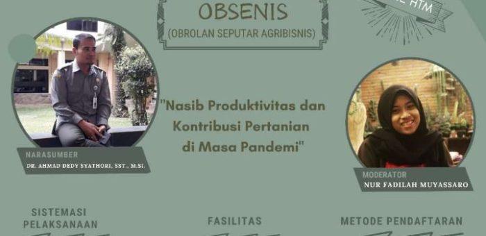Yuk! Join Bareng HIMAGRI di Acara OBSENIS