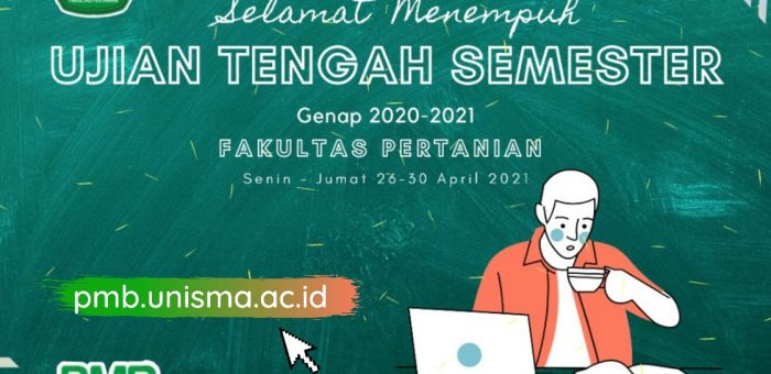 SELAMAT MENEMPUH UTS GENAP 2020/2021